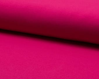 Sweatshirt french terry, Terry fleece Fuchsia