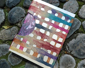 Handmade paper Notebook amate multicolor