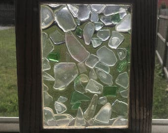 Sea stained glass
