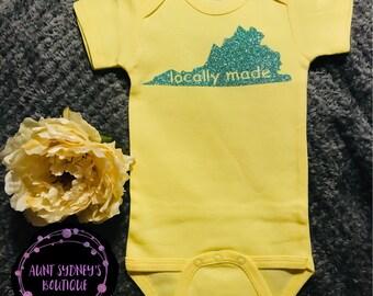 Virginia Locally Made Onesie/Bodysuit