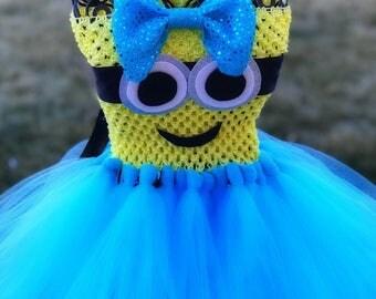 Adult Minion Tutu Dress