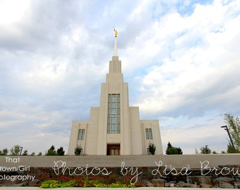 Twin Falls Idaho Temple Picture