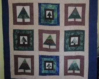 Handmade Quilted Throw