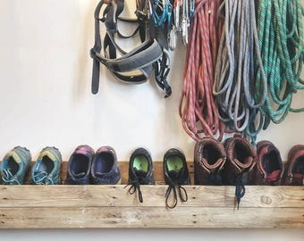 Reclaimed Pallet wood Shoe Rack / Storage Unit