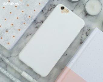 Love Heart iPhone Case iPhone 8 Case iPhone 8 Plus Case iPhone 7 Case iPhone 7 Plus Case iPhone 6S Case iPhone 6S Plus Case Soft White
