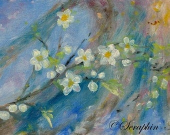 Blossom Still Life Oil Painting