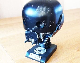 K-2SO Head Replica, Bust Prop