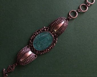 Vintage style Bracelet stainless steel