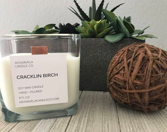 WOODWICK SIGNATURE CANDLE soy wax candle soy candle AromaVela Candle Co