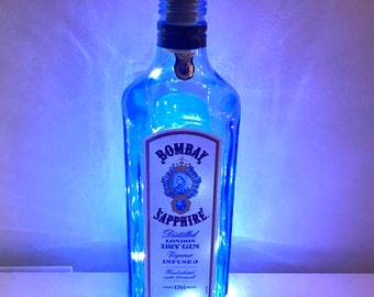 Bombay Sapphire Gin Fairy Lights in a Bottle