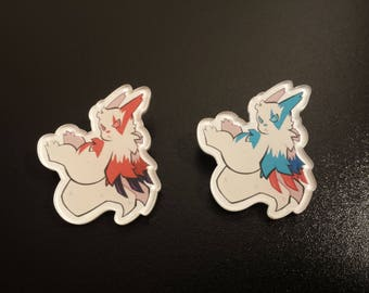 Zangoose Pins