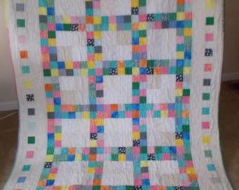 Bright Primary patchwork