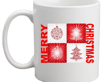 Merry Christmas RED MUG