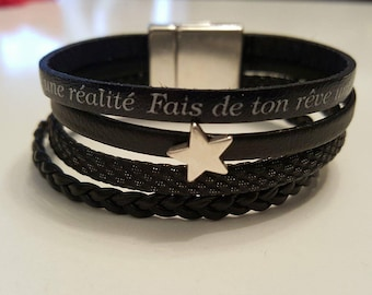 leather strap make your dream a reality