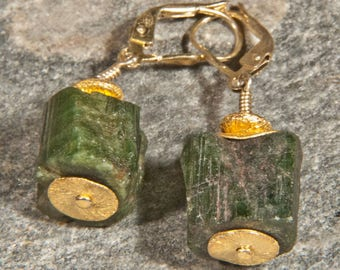 Tourmaline Earrings with 925 silver