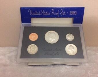 US Proof Set 1983