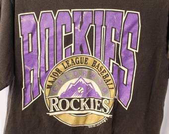 Vintage 1991 Colorado Rockies Tee - M