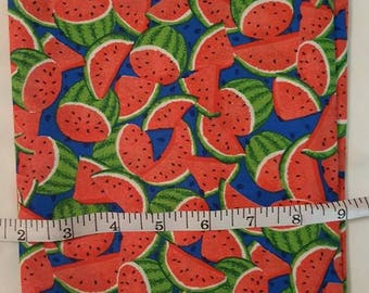 Watermelon cotton fabric