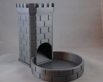 3D Printed Dice Tower