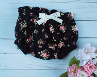 Floral Baby Bloomers, baby bloomers, baby clothes, baby girl clothes, shabby chic clothes, baby boy shorts, baby girl shorts, baby shower
