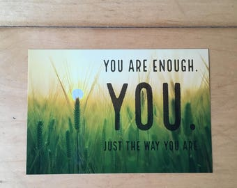Positive Affirmation Card