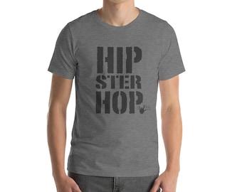 Swing Dance Shirt: Hipster Hop / Hip Hop Dance shirt   Men's Short-Sleeve T-Shirt \ Vintage style dance    Swing Swag Dance Gifts
