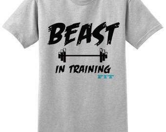 Workout Tank Top - Fitness Tank Top - Yoga Shirt -Gym Shirt - Workout Shirt - Muscle Tank Top - CrossFit Shirt- Gym Addict - Beast in Traini