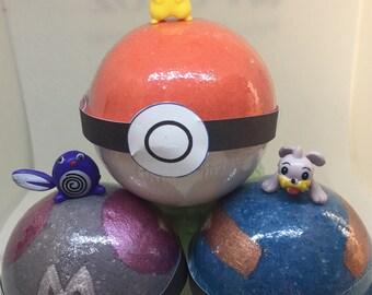 8 oz Surprise Inside Pokemon Inspired Bath Bomb