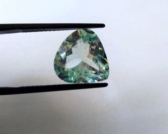Top Quality of Aquamarine Cut Stone Heart Shape 7 Carat 14 x1 4 x 5 MM
