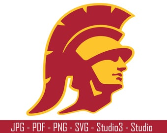 USC Trojans, Southern California, Sports, Basketbal, Footballl - Cut Files - SVG, PNG, Studio - Silhoutte. Cricut and More - CS067
