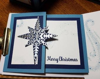 The Light of Heaven Christmas Card, Set of 4