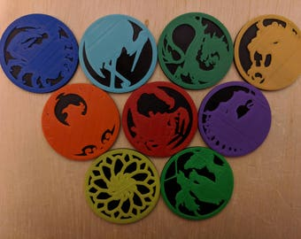 Legend of the Five Rings First Player Tokens - L5R LCG Compatible
