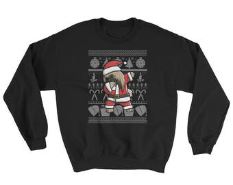 Funny Dabbing Pekingese Ugly Christmas Sweater Cute Dog Gift