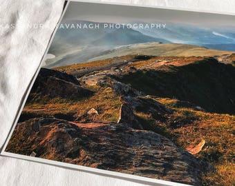 Snowdon 7x10 inch print