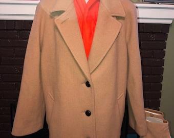 Vintage Forecaster Of Boston Wool Overcoat
