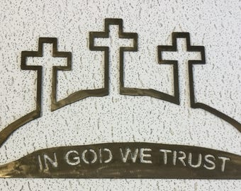 In God We Trust Wall hanging