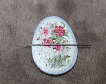 Magnet needle flowers