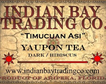Yaupon / Hibiscus Tea - 20 Bags FREE SHIPPING