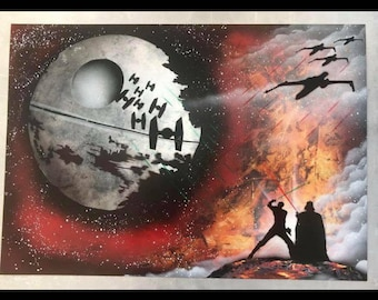 Star Wars - Spray Paint Art