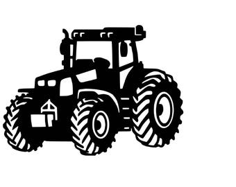 Big Tractor SVG cutting file