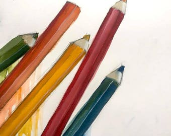 Colourful Pencils (21st February 2018)