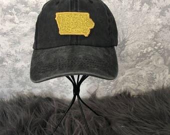 Kids Glitter Iowa Hat