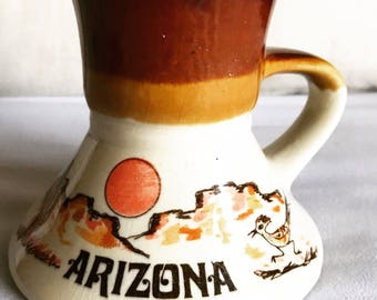 Vintage Arizona Roadrunner Mug