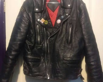 Uk leather jacket size 40-42