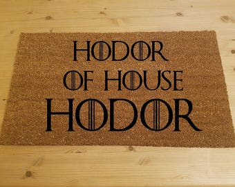 Lord Of The Rings Inspired Doormat Speak Friend And Enter