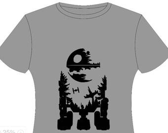 R2 death star shirt