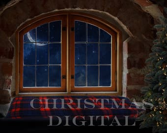 Christmas Digital Background ( for use within photoshop )