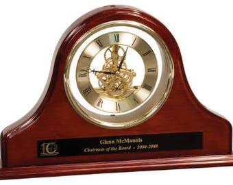 Grand Piano Mantel Clock, Clock, Mantel Clock, Business Gift, Teacher Gift, Lawyer Gift, Employee Gift, Corporate Gift