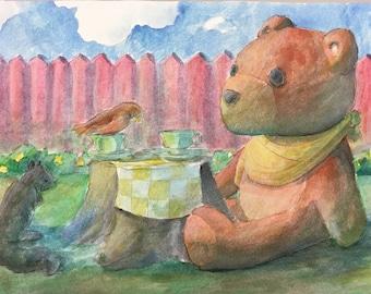 Teddy Bear Picnic Painting