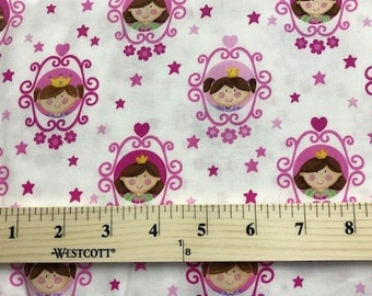 Little Princess Collection, Northcott Studio, Girls, Pink, Fabric, Quilting Fabric